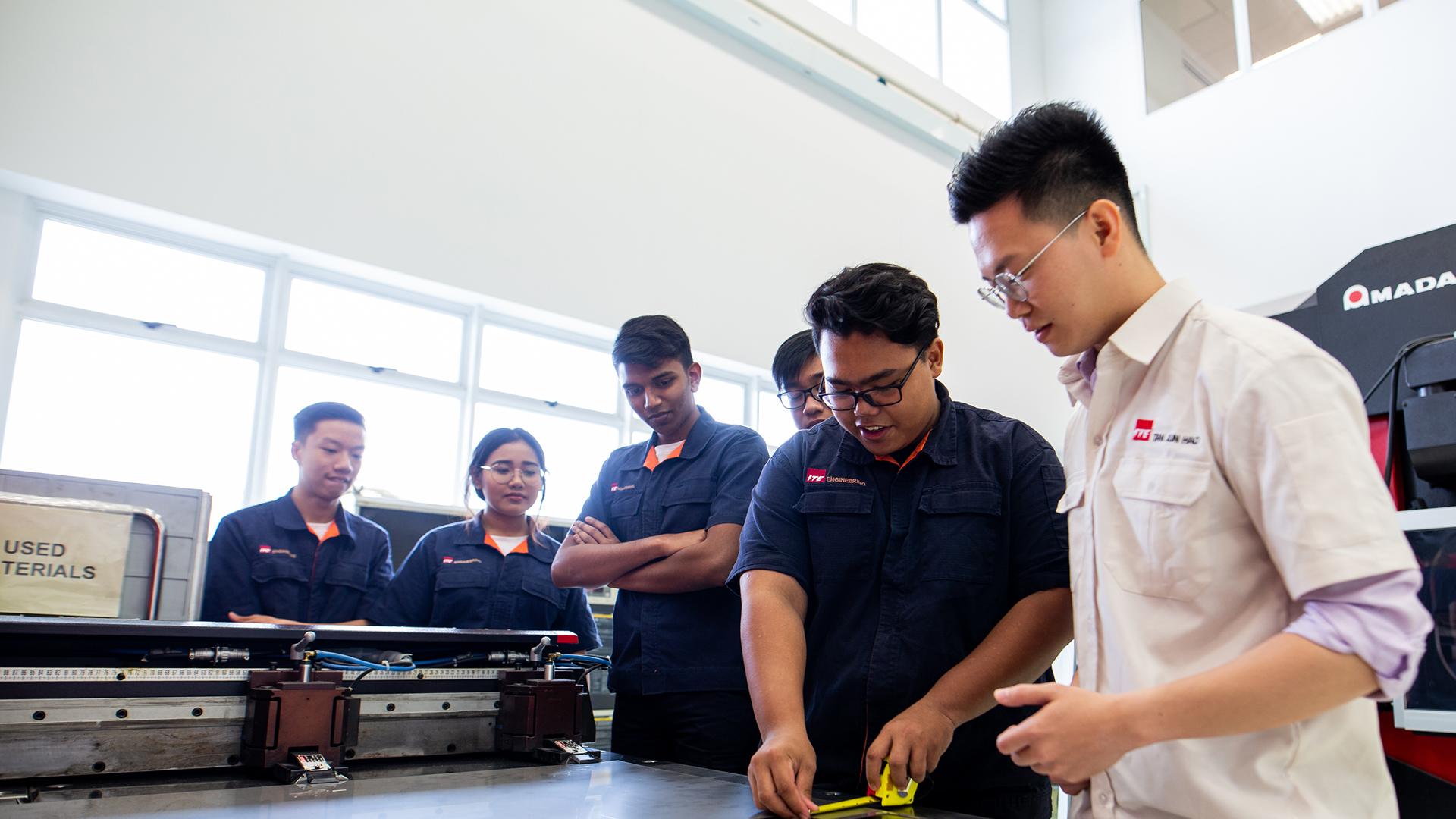 Banner Higher Nitec in Precision Engineering