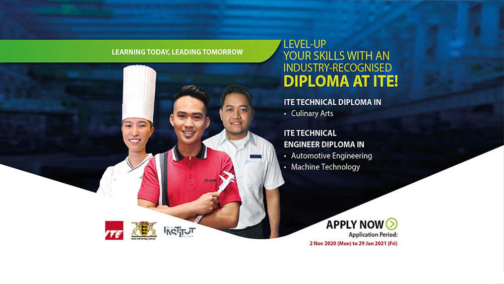Diploma students from ITE