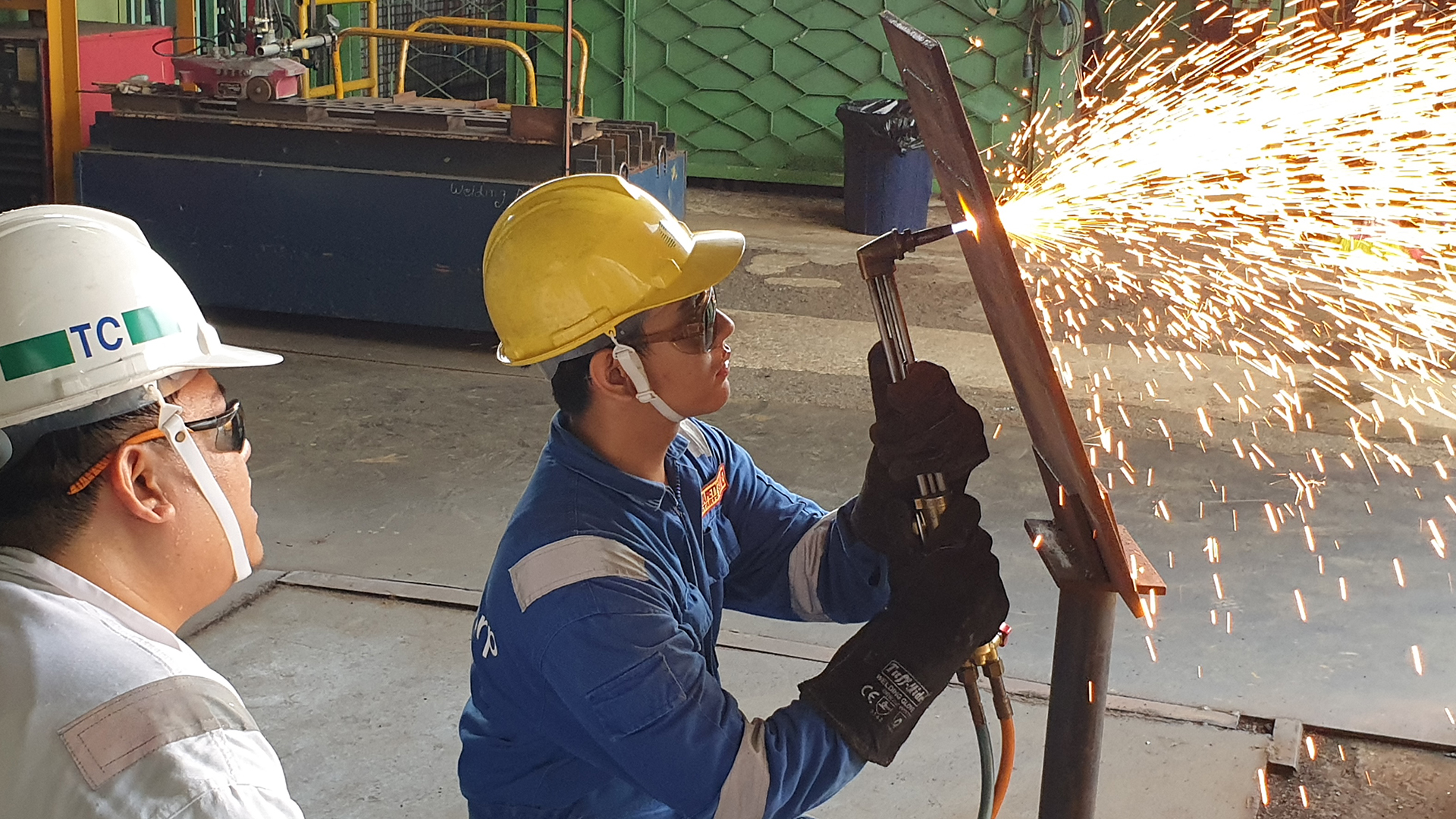 Banner Nitec in Fabrication Technology Marine Pipe