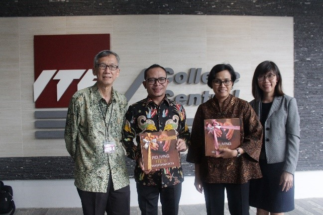 Visit by Indonesia MOM and MOF (15Sep17)