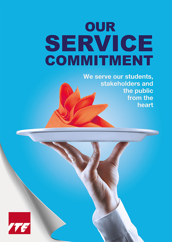 Our Service Commitment Poster